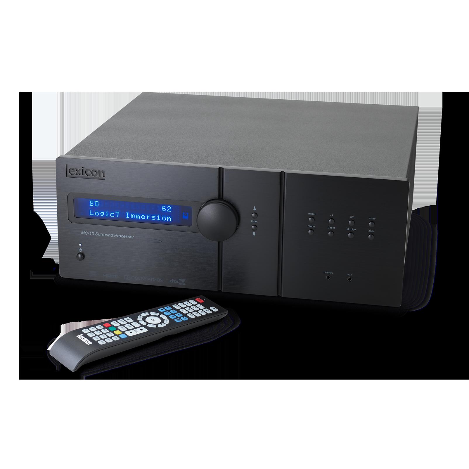 Lexicon MC-10 - Black - Immersive Surround Sound AV Processor - Detailshot 1