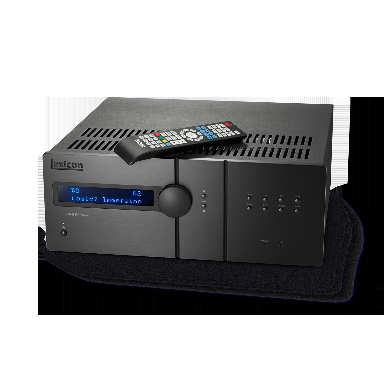 Lexicon RV-9 - Black - Class G Immersive Surround Sound AVR - Detailshot 1